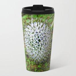 Globe Thistle. Travel Mug