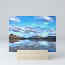 Loch Lomond (Painting) Mini Art Print