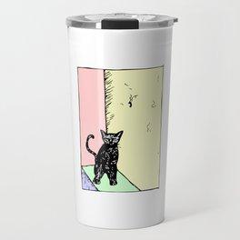 Stoop Kitten Travel Mug