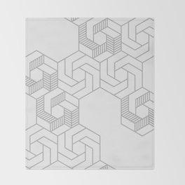 Hex 603 Throw Blanket