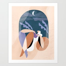 Neither wind nor rain could quench your light Art Print