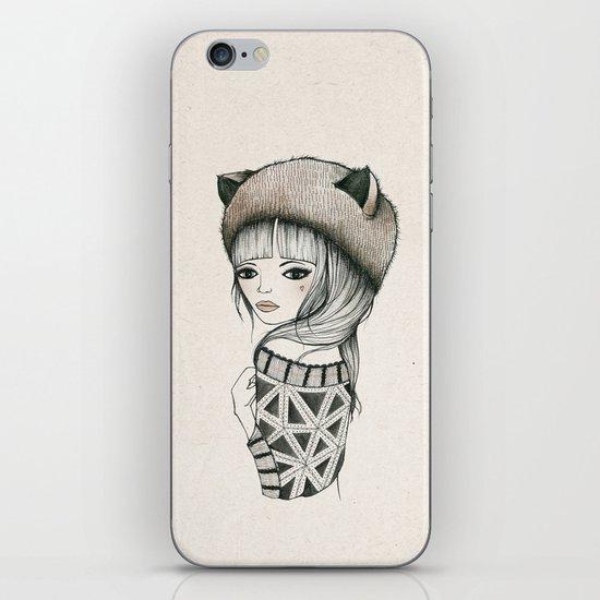 Fox Girl iPhone & iPod Skin
