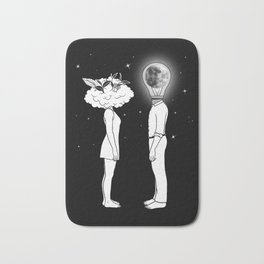 Day Dreamer Meets Night Thinker Bath Mat