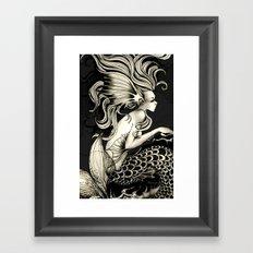 fish story Framed Art Print