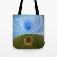 wind Tote Bags featuring Wind by Sébastien BOUVIER