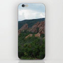 Red Rocks of Roxborough iPhone Skin