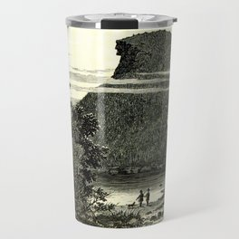 The Old Man of the Mountain Travel Mug