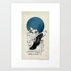 Calliope, The Muse of Epic Poetry Art Print