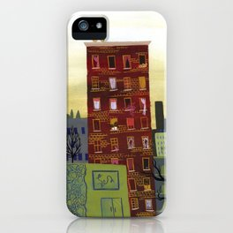City Building iPhone Case