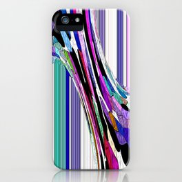 Melting Colors Of Summer Abstract iPhone Case