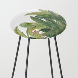 Banana Leaves Counter Stool