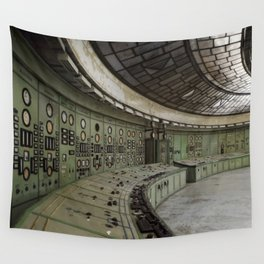 Control room Wall Tapestry