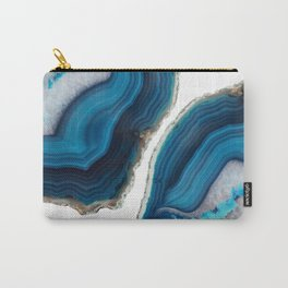 Blue Agate Carry-All Pouch