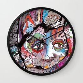 A Certain Clown Wall Clock