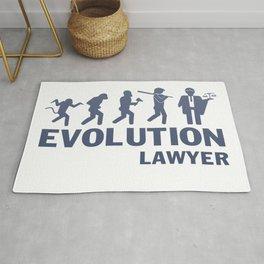 Evolution - Lawyer Rug
