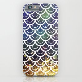 Mermaid Scales Deep Sea Sparkle iPhone Case