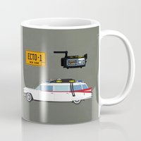 ghostbusters Mugs featuring Ghostbusters v.2 by avoid peril