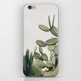 Cactus on blue sky #society6 #decor #buyart iPhone Skin