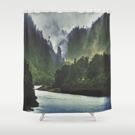 The Spirit Of The River Shower Curtain
