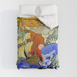 Tales of the Trident:Poseidon with Title Comforters