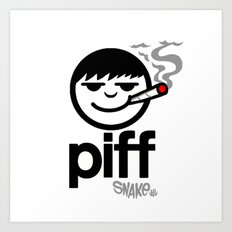 p i f f  Art Print