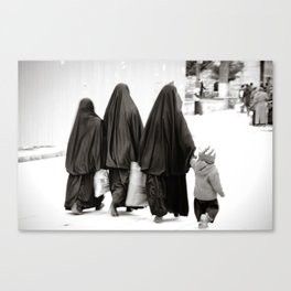Women & the child Canvas Print