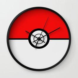 Poke Ball Pokeball Wall Clock