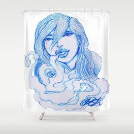 Sueños de Humo. Shower Curtain