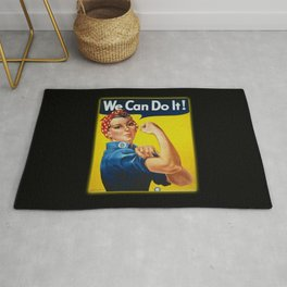 We Can Do It Rug
