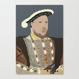 Henry VIII of England Canvas Print