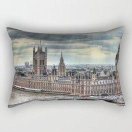 Palace of Westminster London Rectangular Pillow