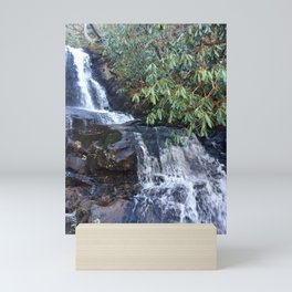 Laurel Falls in the Smoky Mountains by Smokies Art Mini Art Print