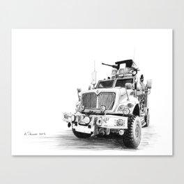 MRAP Canvas Print