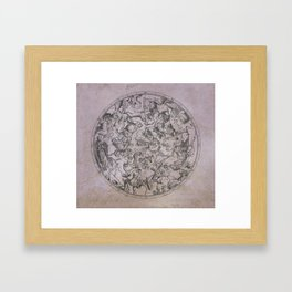 Vintage Constellations & Astrological Signs   Beetroot Paper Framed Art Print