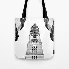 Philadelphia Town Hall. Tote Bag