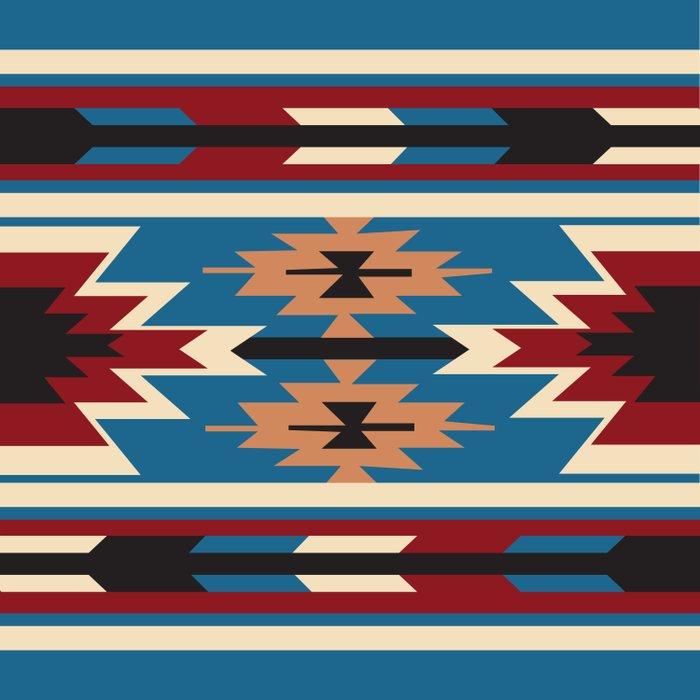 American Native Pattern No. 76 Duvet Cover