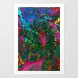 Nova Saturated Art Print