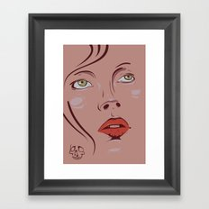love is.. Framed Art Print