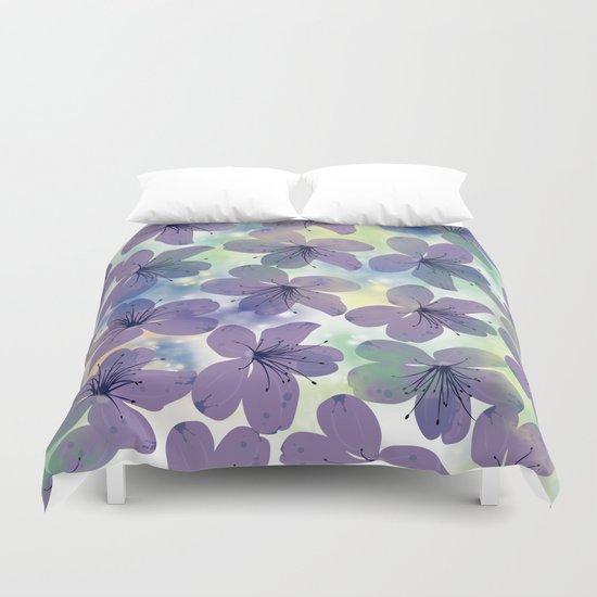 Floral Pattern #4 Duvet Cover