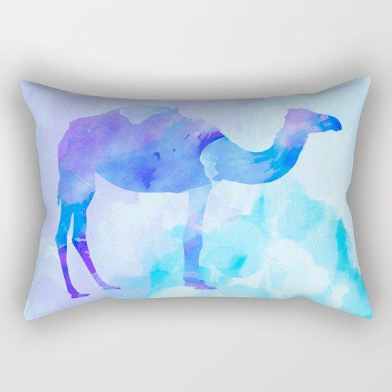 Abstract Camel Rectangular Pillow
