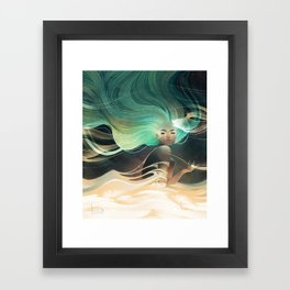 Aurorae Framed Art Print