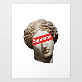 Supreme 5 Art Print