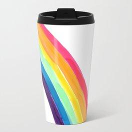 rainbow simple Travel Mug