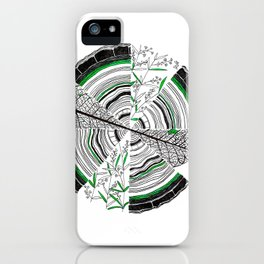 Age, Cells, and Pi iPhone Case