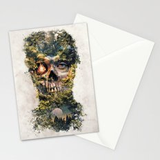 The Gatekeeper Surreal Dark Fantasy Stationery Cards