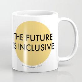 The Future Is Inclusive - Yellow Coffee Mug