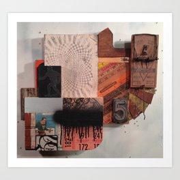 """Four ways"" Art Print"