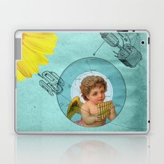 Angel playing music in space Laptop & iPad Skin
