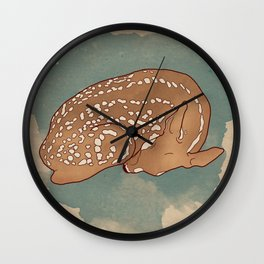 Litte deer Wall Clock