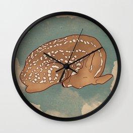 Litte deer Wall Clock